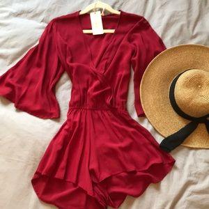 Dresses & Skirts - Red Romper